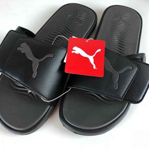6e325da4fbcf PUMA Starcat Slide Sandals Adjustable Velcro NWT